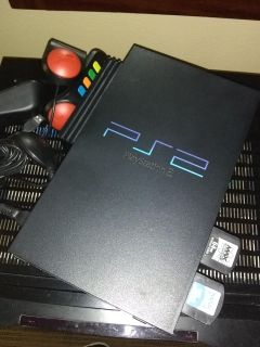 Sony PlayStation 2 W/Buzzr Controlers