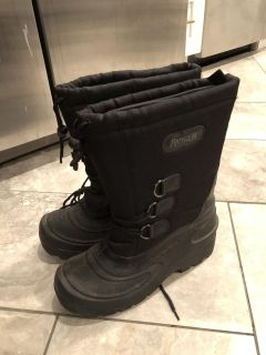 Men's Size 10 Lined Winter Boots