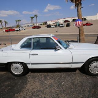 1986 Mercedez Benz sl560 roadster convertible coupe