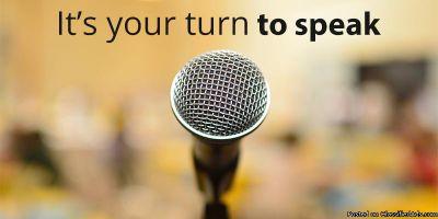 PUBLIC SPEAKING & PRESENTATION SKILLS TRAINING