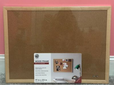 Wood frame Bulletin Board Never been opened