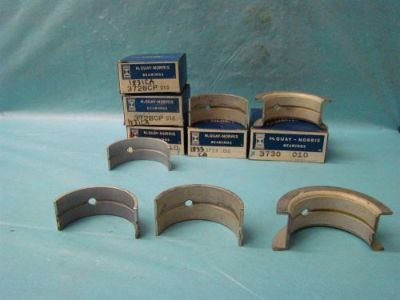 Buy 1952-1964 Ford 215 223 Crestline Galaxie Custom Fairlane Main Bearing Set 010 motorcycle in Vinton, Virginia, United States, for US $145.00