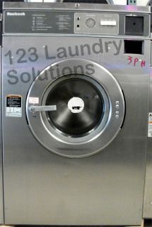 For Sale Huebsch Front Load Washer 208-240v Stainless Steel HC35MD2OU20001 Used