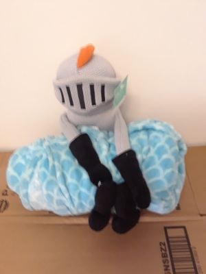 Knight Throw and Pillow Buddy Set