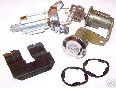 Find 70 71 72 73 MUSTANG DOOR AND IGNITION MATCHED LOCK SET motorcycle in Sheffield Lake, Ohio, US, for US $34.95