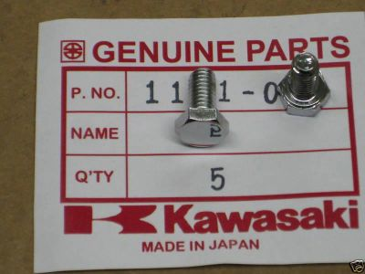Purchase 73-80 Kawasaki KZ 650 Starter Cover Bolt's motorcycle in Okeana, Ohio, US, for US $16.99