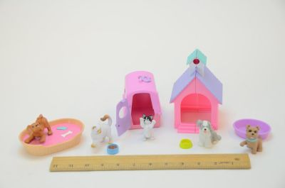 Dogs & Cats for Barbie or Dollhouse