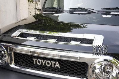 Purchase 2007 and up Toyota FJ Cruiser Chrome Front Hood Scoop motorcycle in Venus, Pennsylvania, US, for US $99.95