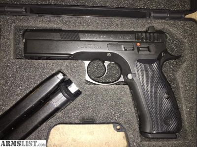 For Sale: CZ75 SP-01