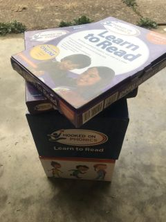 Hooked On Phonics.. Learn to read kit