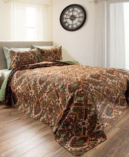 New Queen size quilt and pillow shams.
