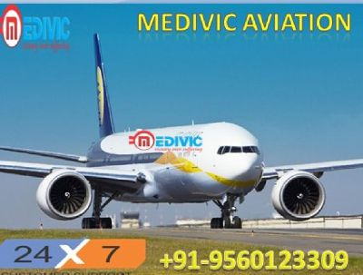 Best Medical Patients Care Air Ambulance in Delhi-Medivic Aviation