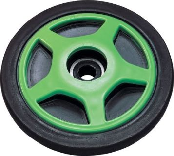 Sell Parts Unlimited Colored Idler Wheel - 6.38in. x .75in. (With Insert) - Green motorcycle in Loudon, Tennessee, United States, for US $24.95
