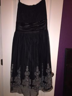 Beautiful beaded dress size 20