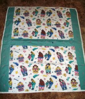 HANDMADE NEW Large BABY QUILT
