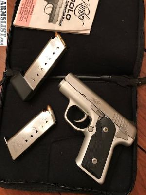 For Sale: Kimber Solo 9mm