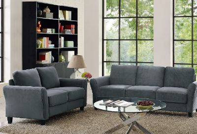 NEW-Lifestyle Solutions Westin Sofa and Wycliff Love Seat