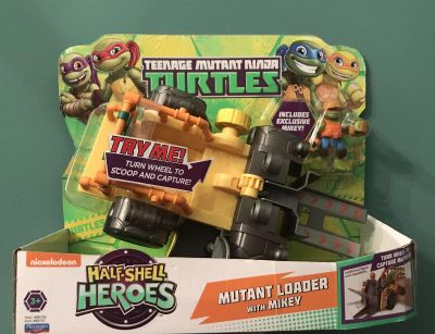 New TMNT Half Shell Loader With Mikey