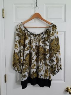 Adorable Cato Top Size 3X. Excellent Condition