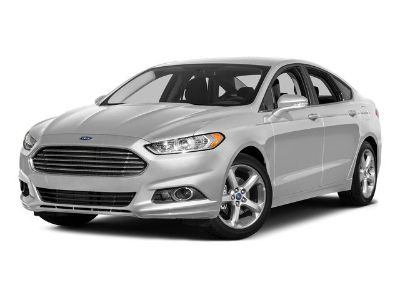 2016 Ford Fusion (blue)