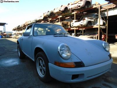 1972 Porsche 911 S Targa Sportomatic Project Car