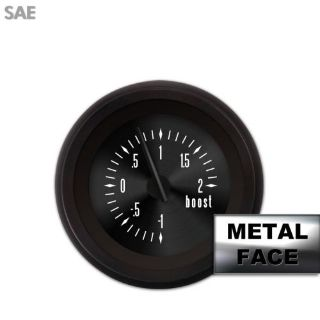 Buy Turbo Gauge - SAE American Classic Black V, Black Modern Needles, Black Trim motorcycle in Portland, Oregon, United States, for US $44.96