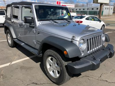 2016 Jeep Wrangler Unlimited 4WD 4dr Sport (Granite Crystal Metallic Clearcoat)