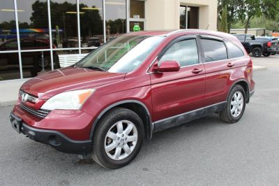 2008 Honda CR-V EX-L (Red)