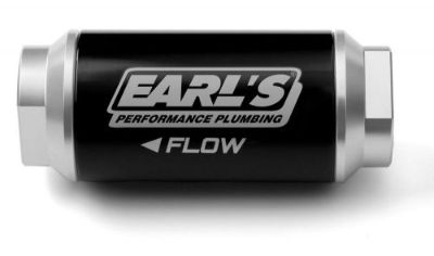 Find Earl's 230628ERL 175 GPH Billet Fuel filter - 100 micron -8AN @ Speed Tech motorcycle in Cary, Illinois, United States, for US $73.99