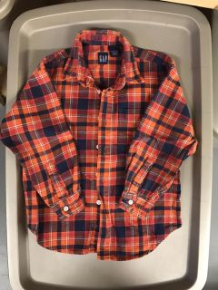 Size 7 flannel shirt