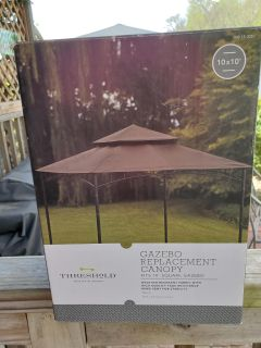 Replacement canopy for gazebo