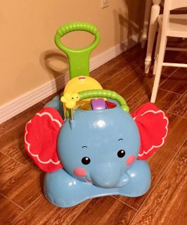Fisher Price Bounce, Stride, and Ride