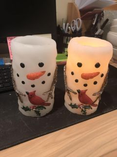2 Batter Operated Candles