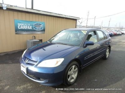 2005 Honda Civic Sdn EX MT