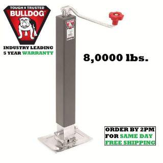 "Buy BULLDOG SQUARE TRAILER JACK W/ FOOTPLATE 8,000 lbs. DROP LEG TOPWIND - 15"" LIFT motorcycle in Las Vegas, Nevada, United States, for US $80.97"
