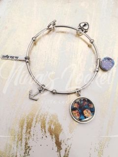 Bangle With Picture Charm