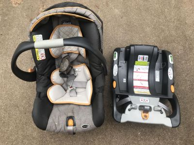 Chico infant car seat & base