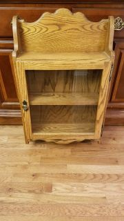 Wall Cabinet w/Glass Door