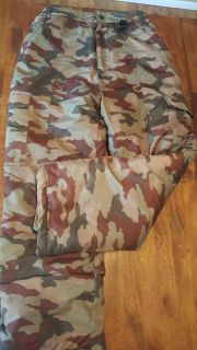 Camouflage Snow Pants - Size 12 / 14