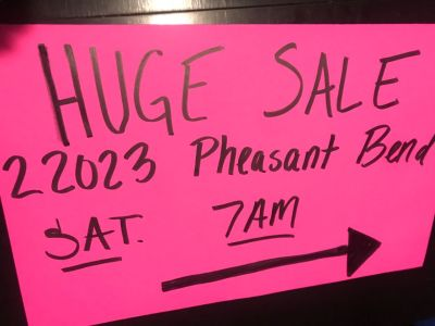 5 Family Sale in Valley Ranch 7am Sat