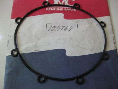 Find 124764 OMC 0124764 OIL TANK COVER SEAL. motorcycle in Walnut Creek, California, United States, for US $4.99