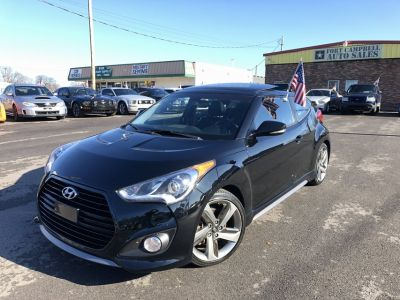 2015 HYUNDAI VELOSTER TURBO COUPE 4-Cyl TURBO 1.6 LITER