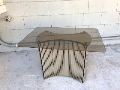 Midcentury Karl Springer Style Table