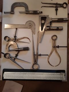 VERY OLD MEASURING TOOLS