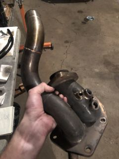 Buschur Racing Turboback Exhaust and Custom O2 Housing