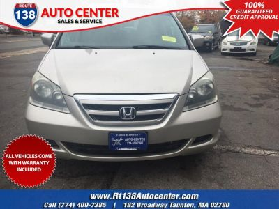 2007 Honda Odyssey EX-L (Silver Pearl Metallic)