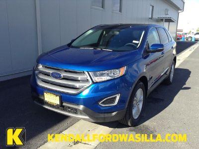 2018 Ford Edge SEL AWD (Lightning Blue Metallic)