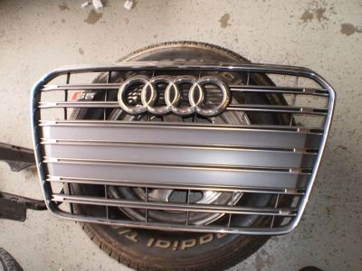 RARE CHROME AUDI OEM 13-16 S5 A5 Grille Grill AUTO CAR GRILL