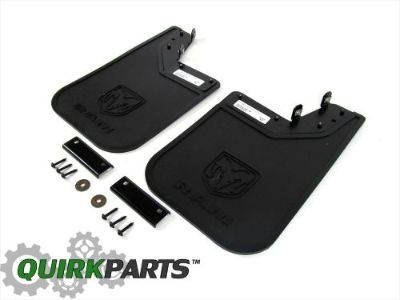 Sell 14-16 DODGE RAM PROMASTER REAR HEAVY DUTY RUBBER SPLASH GUARDS NEW MOPAR motorcycle in Braintree, Massachusetts, United States, for US $39.61
