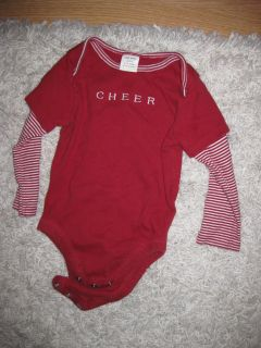 6-12 mo Old Navy holiday long sleeve onesie